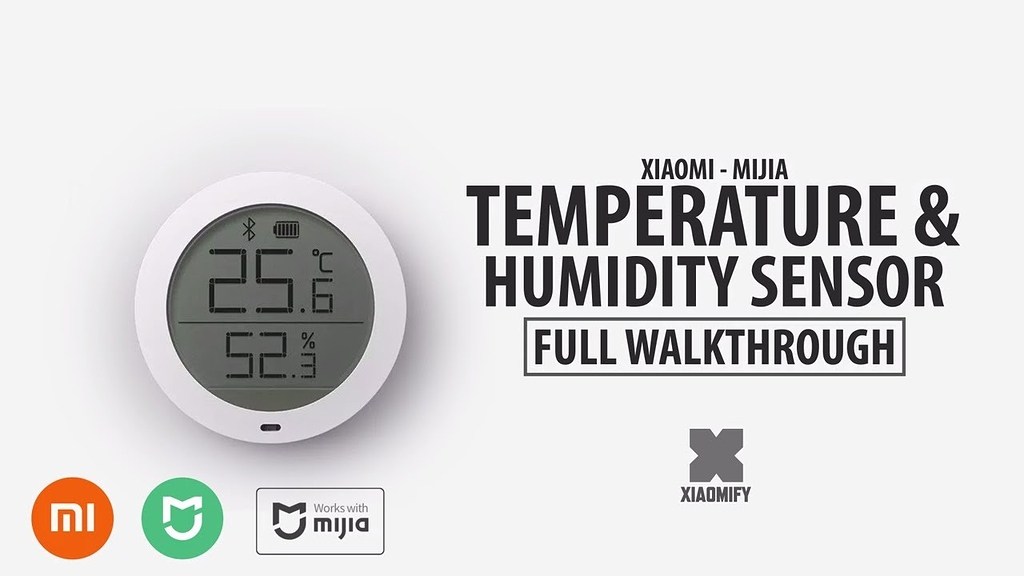 XIAOMI Mijia Bluetooth Thermometer 2 Home Digital Temperature Humidity Monitor