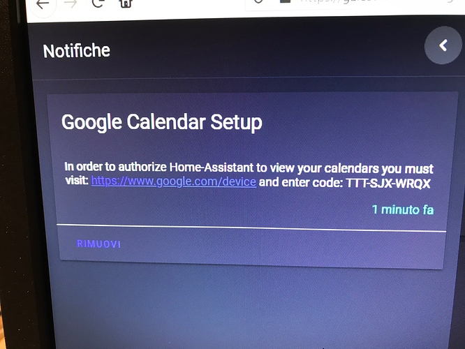 The Google Calendar Event Is Always Working Configuration Home Assistant Community