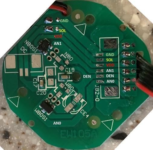 Rotary Encoder Board Weather Vane - Signals