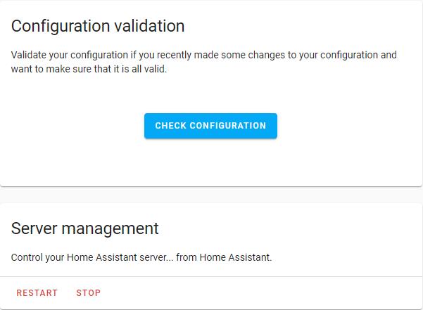 Server Management - Stop