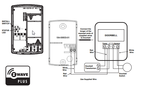 Need Help With Nexia Doorbell Sensor Before I Return It Or