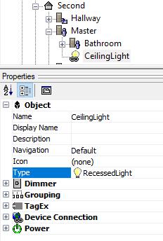 Premise - Type - Recessed Light